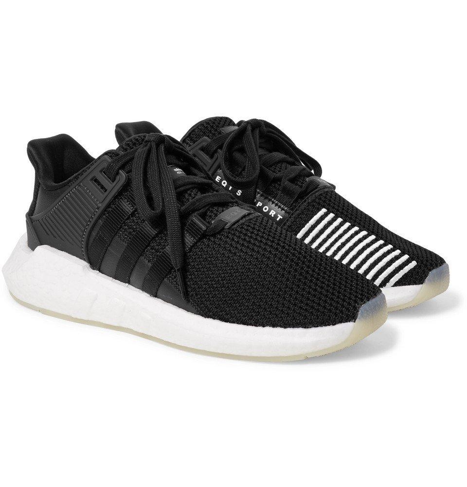 adidas Originals - EQT Support 93/17 Stretch-Knit Sneakers - Men - Black
