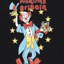 Martine Rose Clown Artwork T Shirt Black