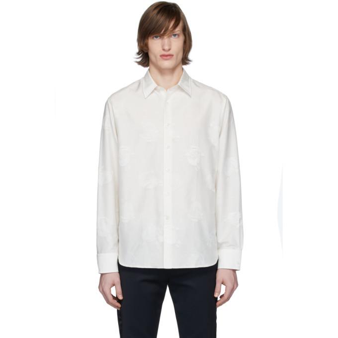 Photo: Lanvin White Straight Shirt