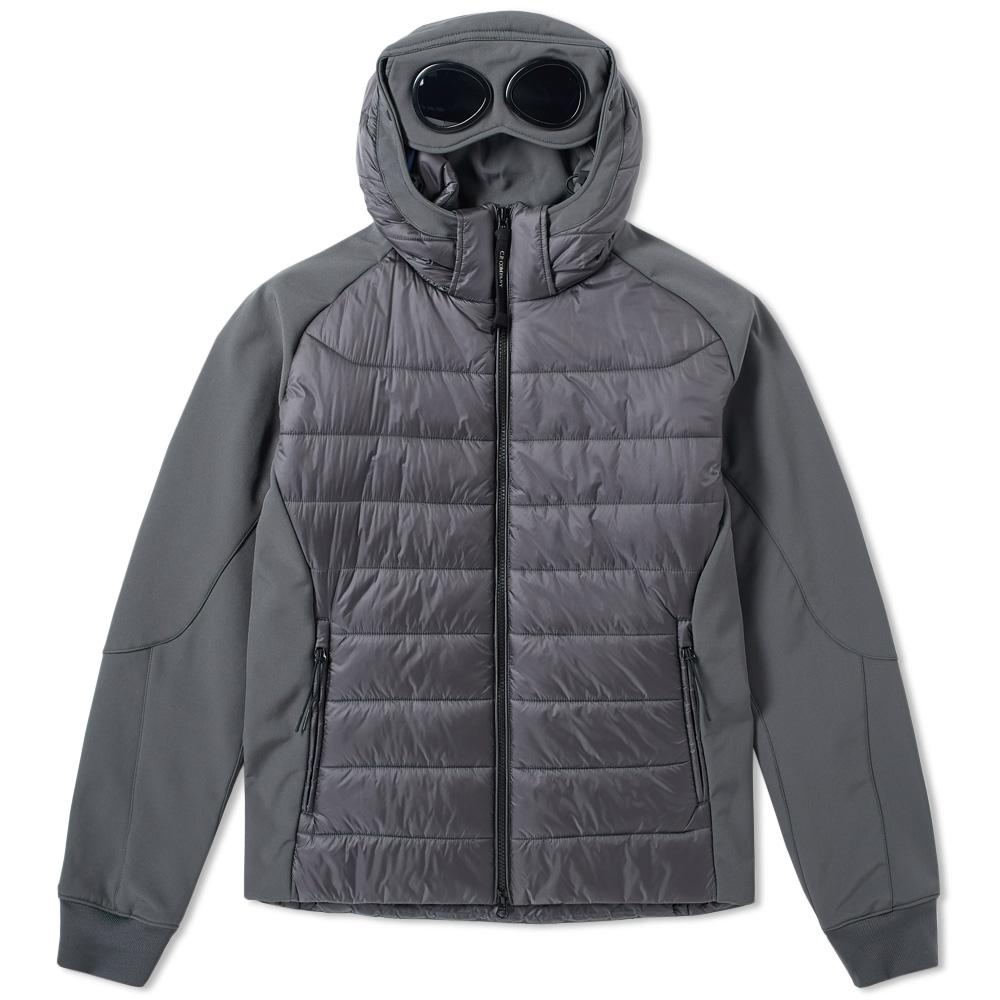 Photo: C.P. Company Softshell Goggle Raglan Down Jacket