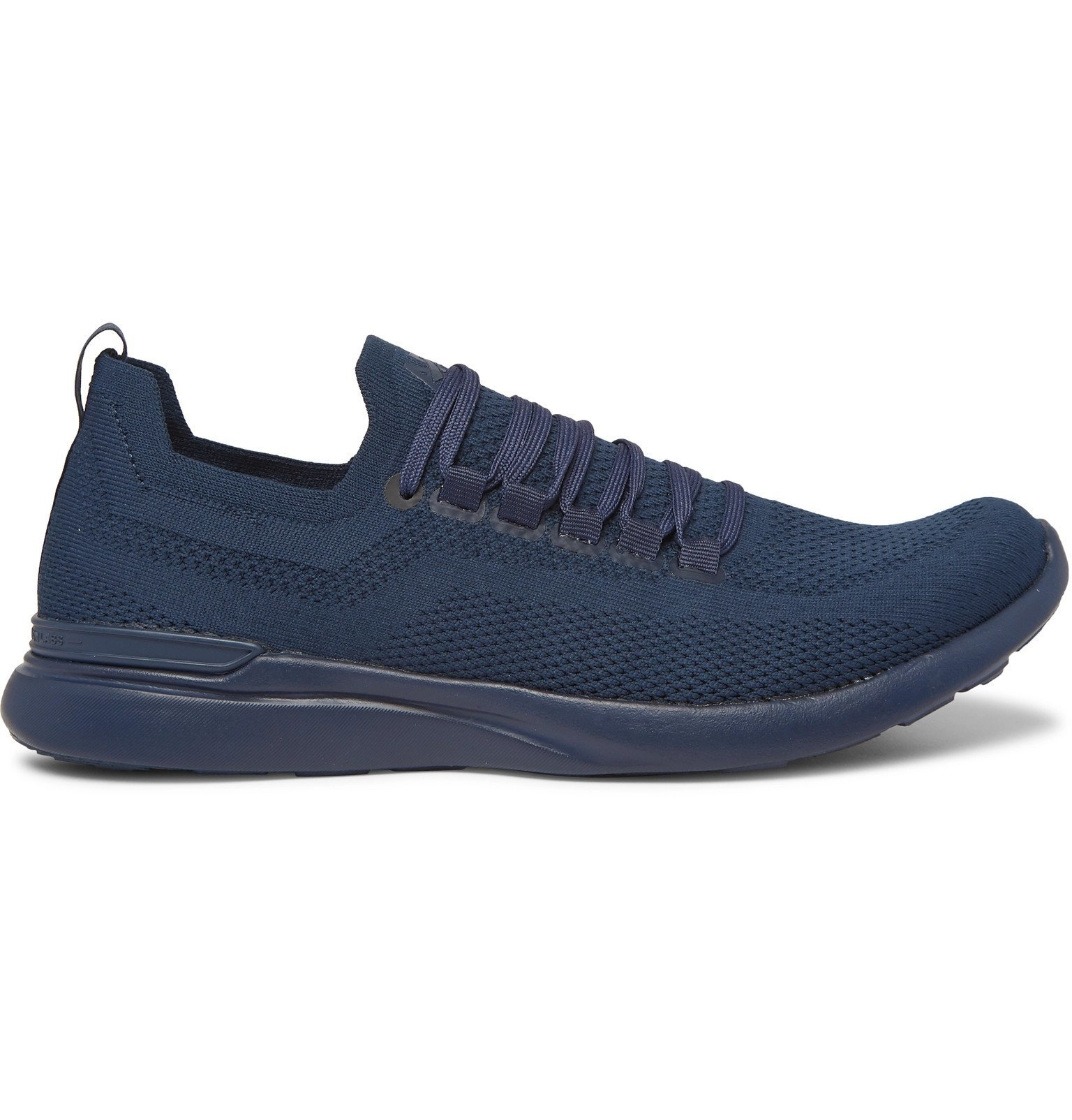 Photo: APL Athletic Propulsion Labs - TechLoom Breeze Running Sneakers - Blue