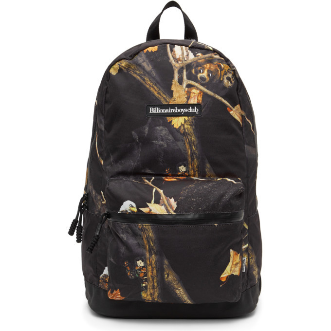 Photo: Billionaire Boys Club Black Camo Tree Backpack