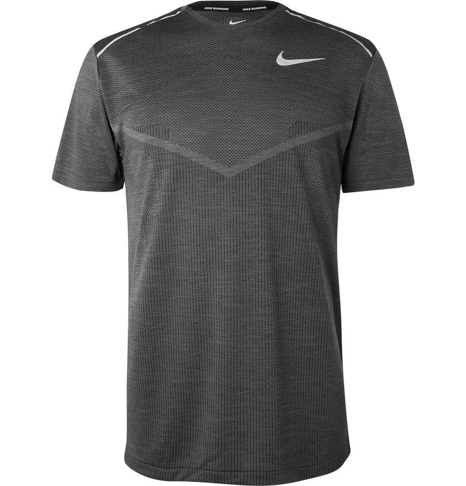 Nike Running - Ultra TechKnit Running T-Shirt - Men - Charcoal