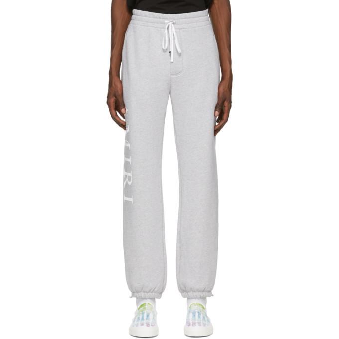 Photo: Amiri Grey Large Logo Lounge Pants