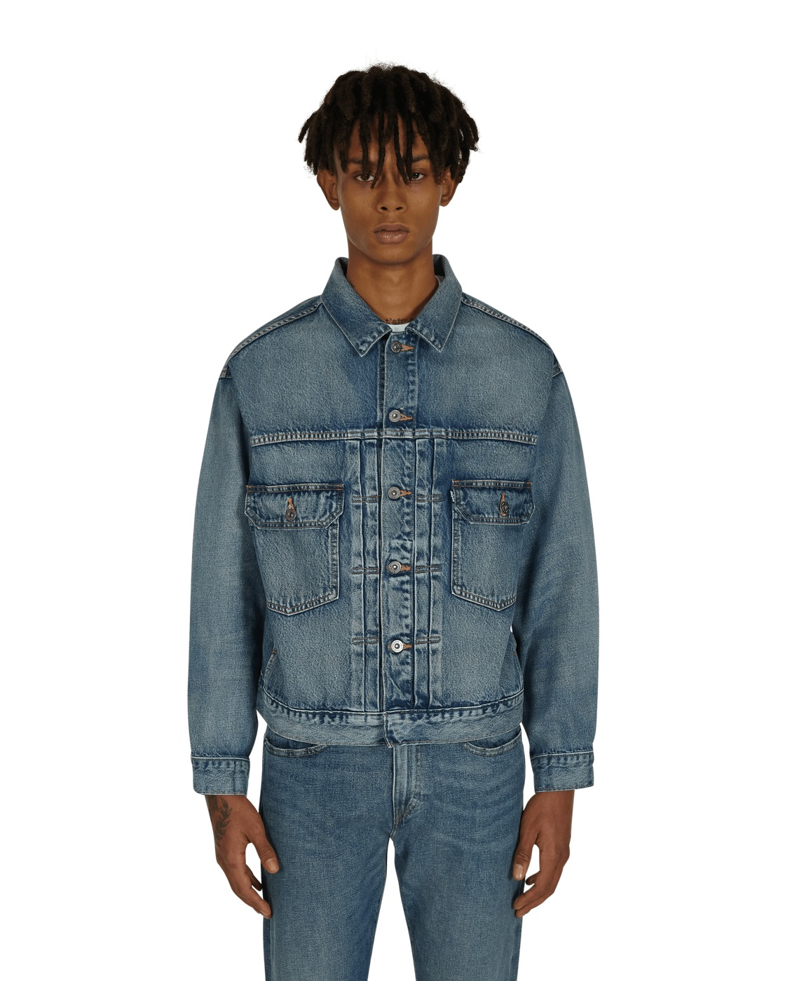 Photo: Levi's Made & Crafted Oversized Type Ii Denim Jacket Stern
