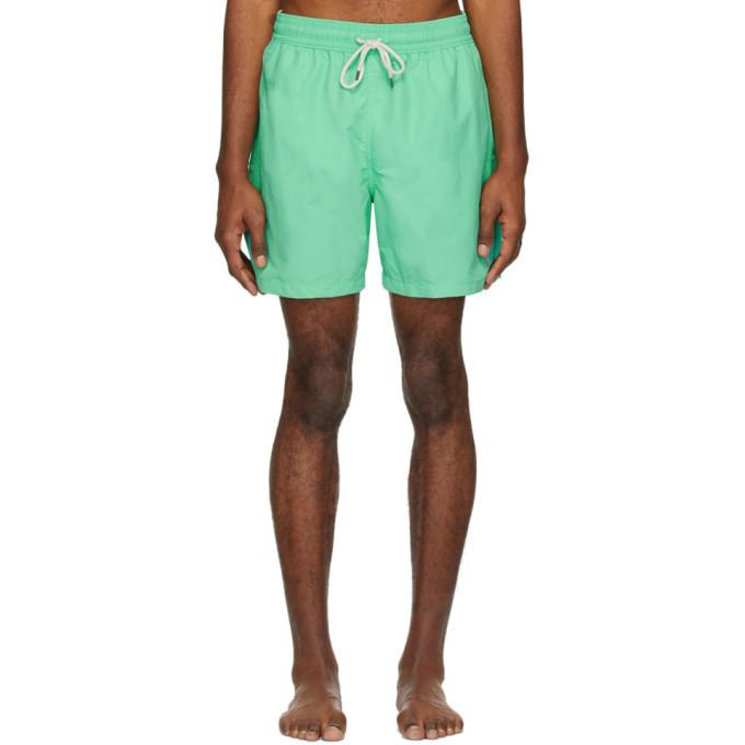 Photo: Polo Ralph Lauren Green Traveler Swim Shorts