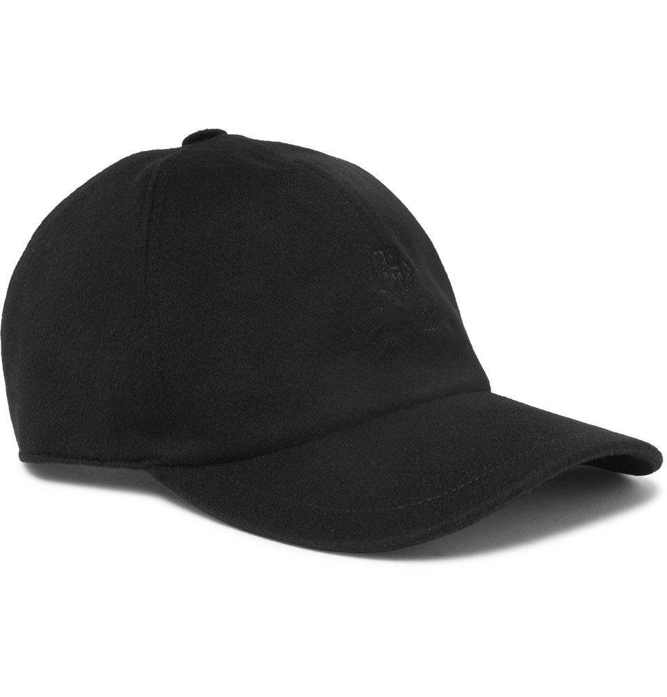 Photo: Loro Piana - Logo-Embroidered Storm System Cashmere Baseball Cap - Black