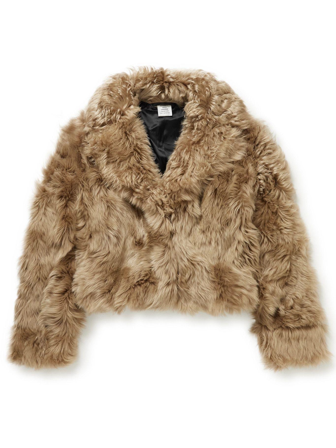 Photo: Vetements - Shearling Jacket - Neutrals