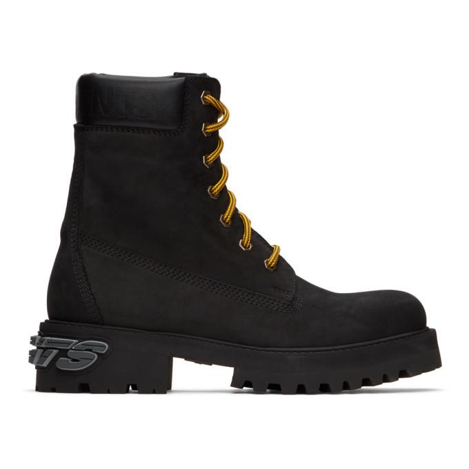 Photo: VETEMENTS Black New Trucker Boots