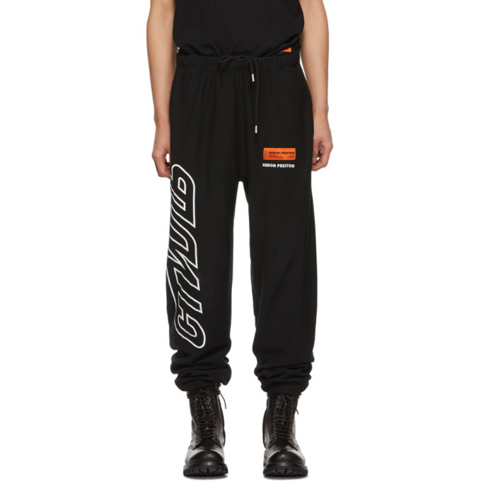 Photo: Heron Preston Black Style Lounge Pants