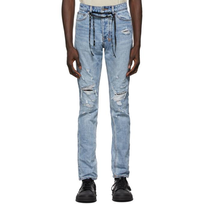 Photo: Ksubi Blue Chitch Distressed Jeans