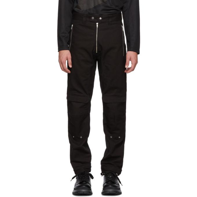 GmbH Black Yolanda Cargo Trousers