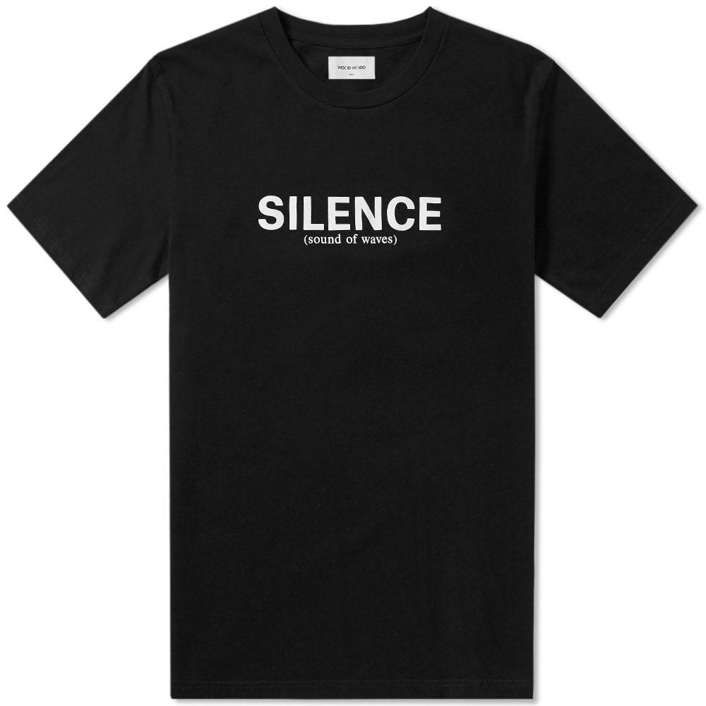 Photo: Wood Wood Perry Silence Tee Black