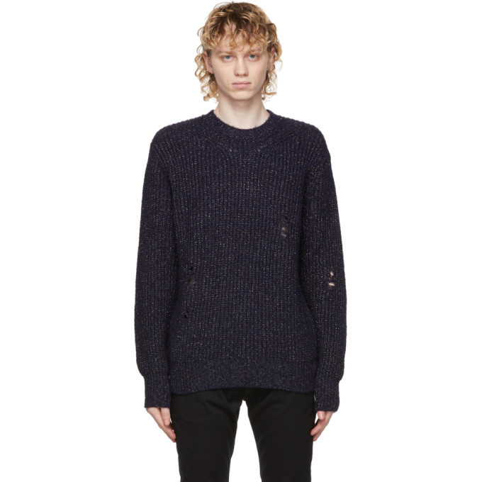 Photo: Diesel Navy K-Carbon Sweater