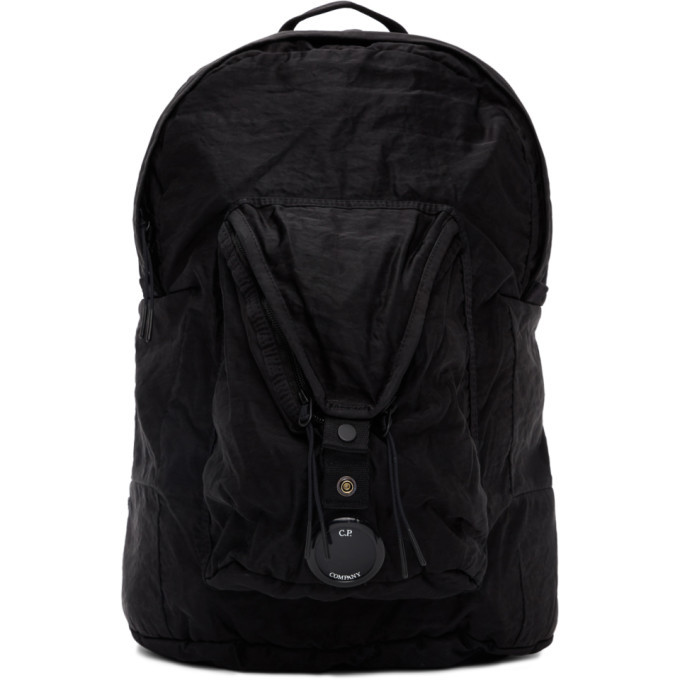 Photo: C.P. Company Black Technical Backpack