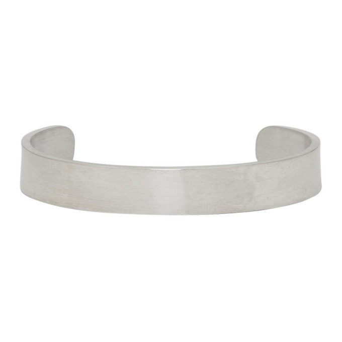 Photo: Jil Sander Silver Line Bangle Bracelet