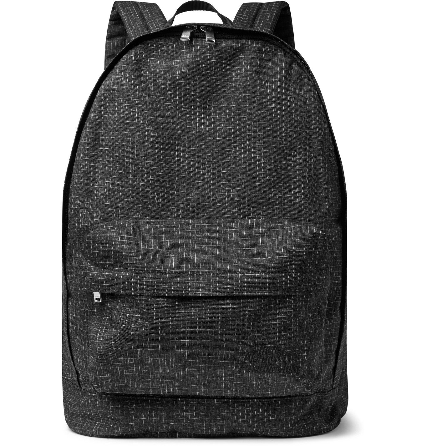 Photo: nonnative - Dweller Logo-Embroidered SPIDELON Ripstop Backpack - Black