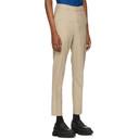 3.1 Phillip Lim Beige Wool Needle Trousers