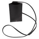 Dunhill Black Cadogan Phone Pouch