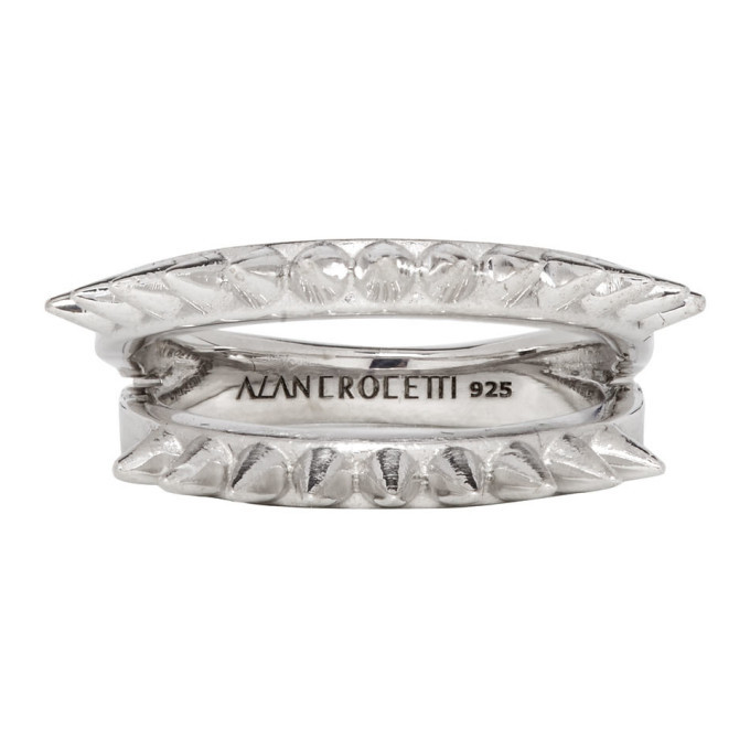 Photo: Alan Crocetti Silver Half-Space Spur Ring