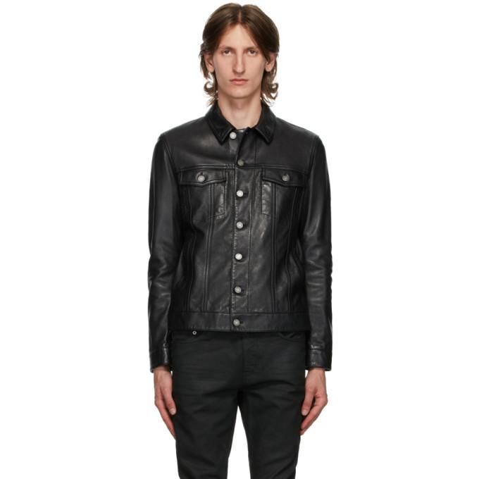 Photo: Saint Laurent Black Classic Leather Jacket