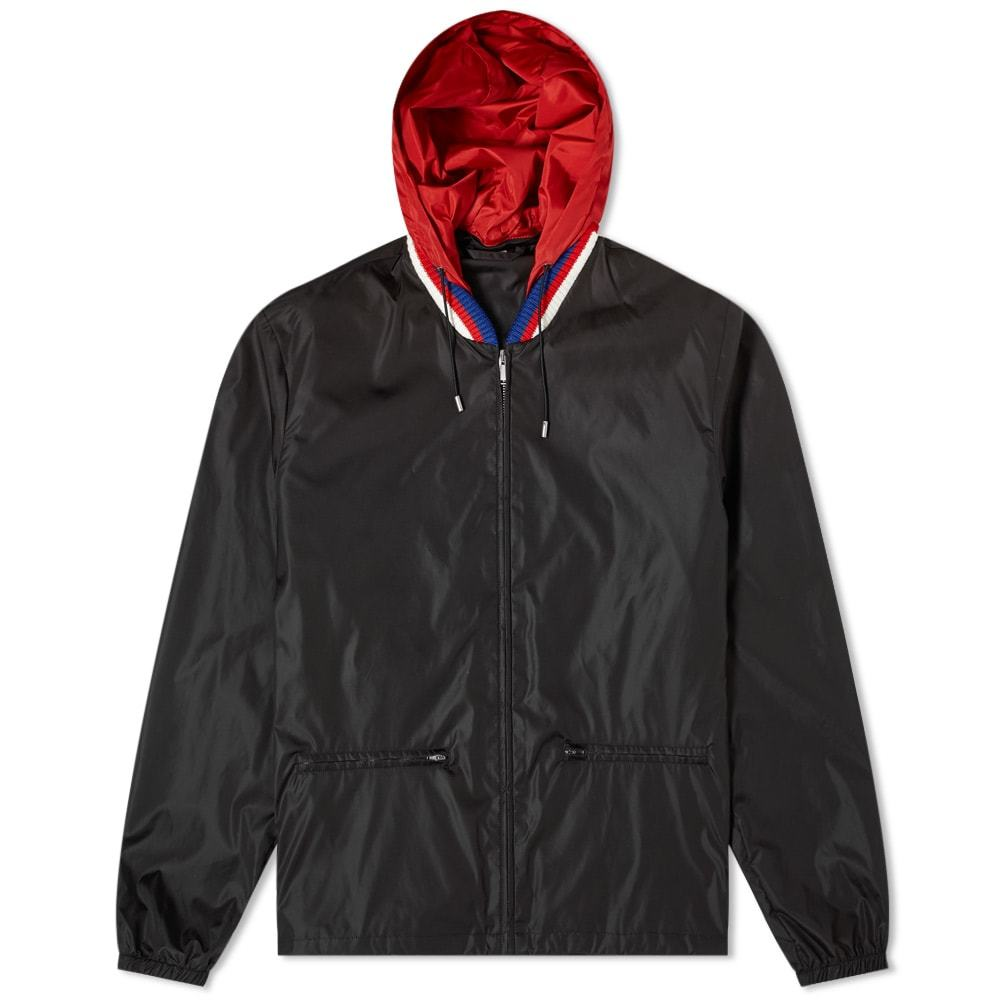 Photo: Gucci Vintage Nylon Bomber Jacket