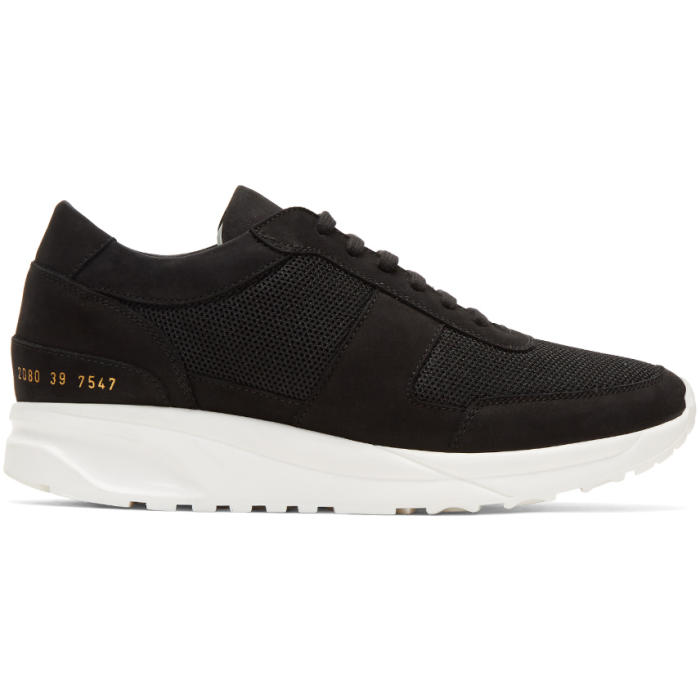 Common Projects Black Track Sneakers
