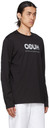 Hugo Black Smiley Edition Reversed Logo Long Sleeve Shirt