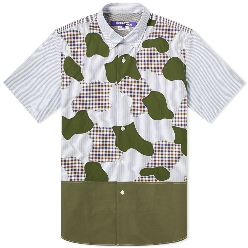 Photo: Junya Watanabe MAN Short Sleeve Cut & Sew Camo Shirt