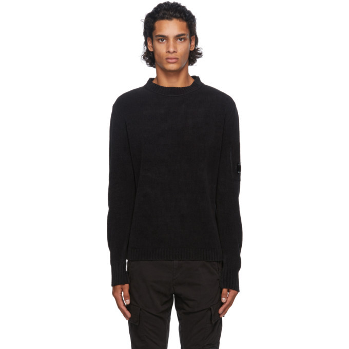 Photo: C.P. Company Black Lens Sweater