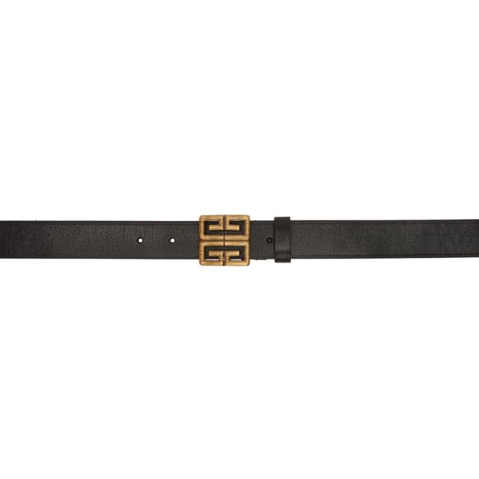 Photo: Givenchy Black Engraved 4G Long Belt