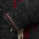 RRL - Shawl-Collar Wool and Silk-Blend Jacquard Cardigan - Black