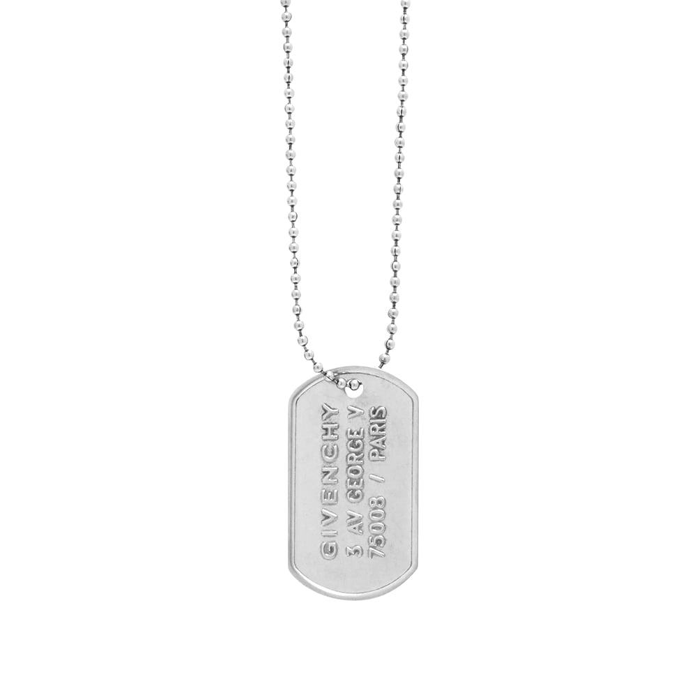 Photo: Givenchy Tag Necklace