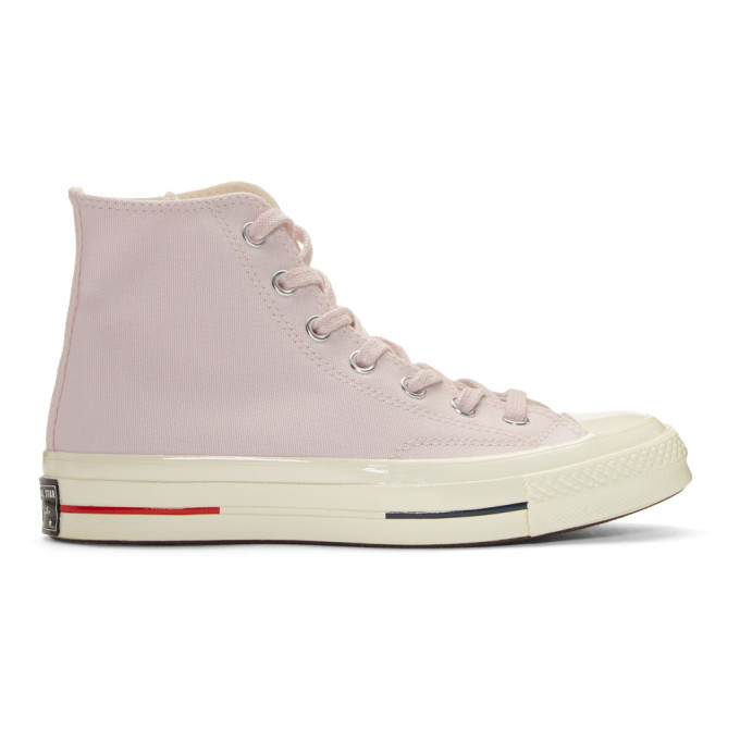 Photo: Converse Pink Chuck Taylor All-Star 70 High-Top Sneakers