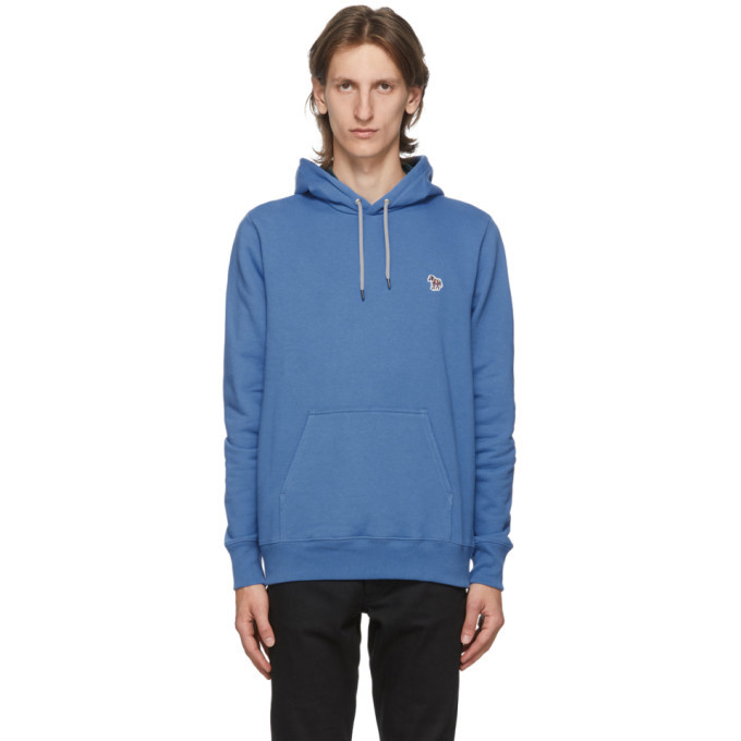 Photo: PS by Paul Smith Blue Zebra Hoodie