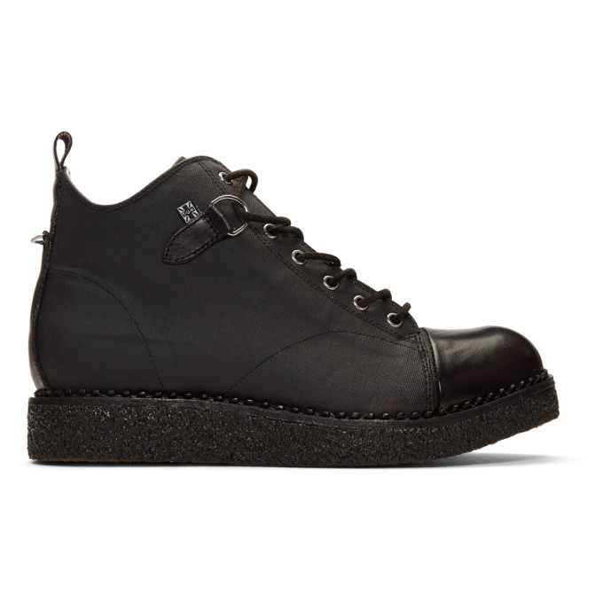 Photo: Stay Made Black TUK Edition Primed Canvas Boots