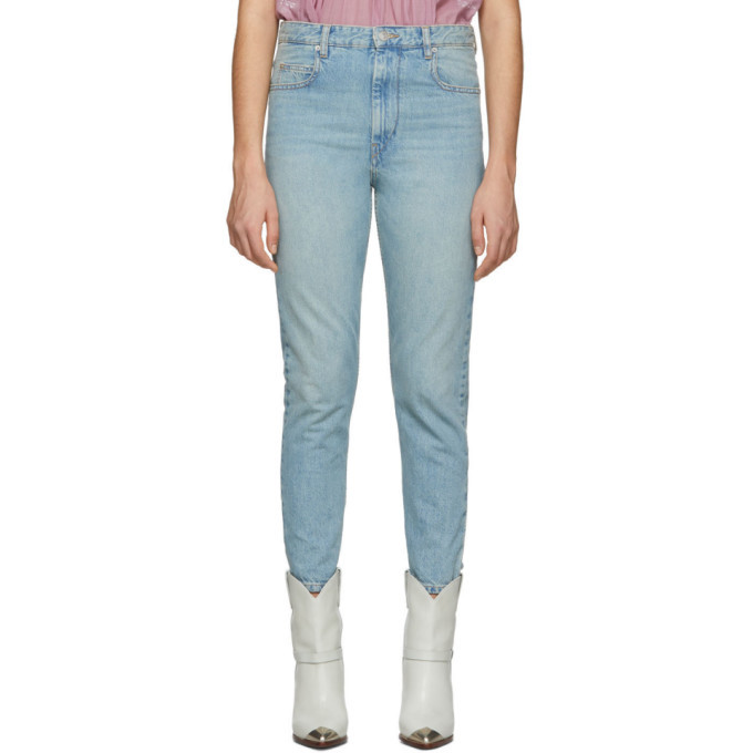 Photo: Isabel Marant Etoile Blue Denim Neaj Jeans