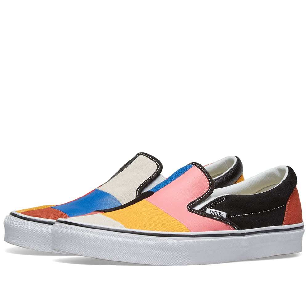 Photo: Vans UA Classic Slip On Patchwork Multi & True White