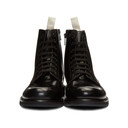 Common Projects Black Standard Combat Boots