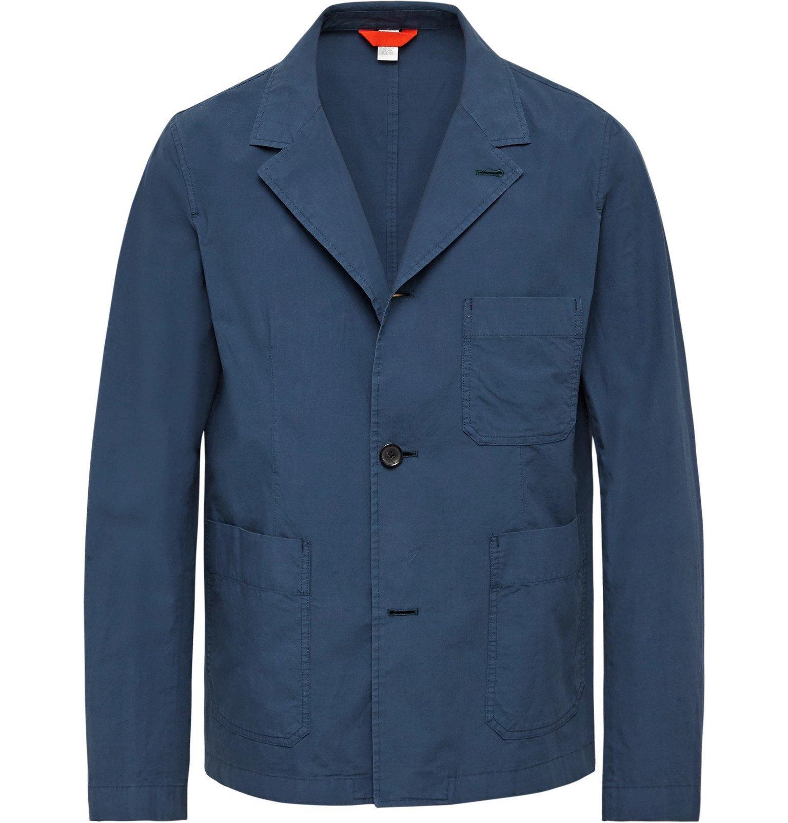 Photo: PS Paul Smith - Cotton Chore Jacket - Blue