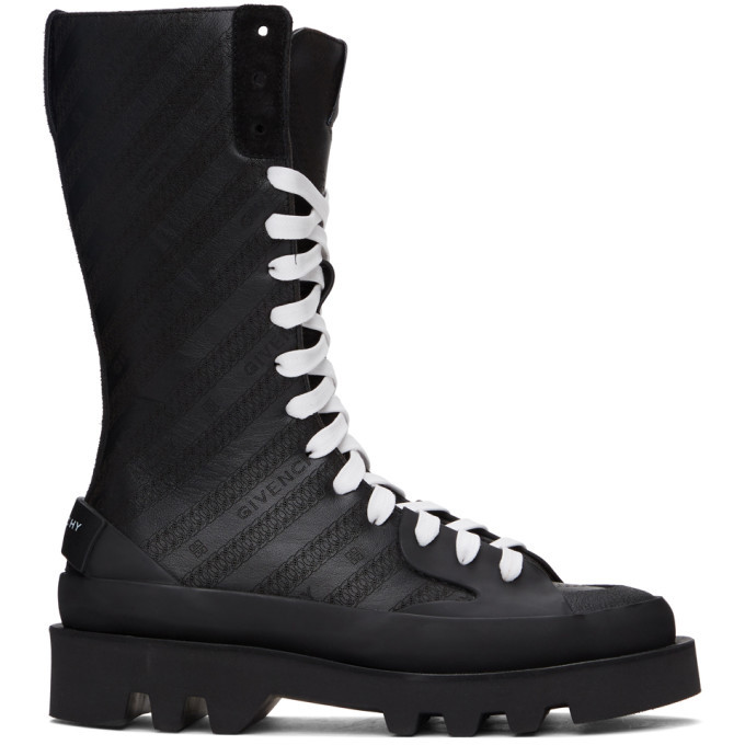 Photo: Givenchy Black Clapham Mid-Calf Boots