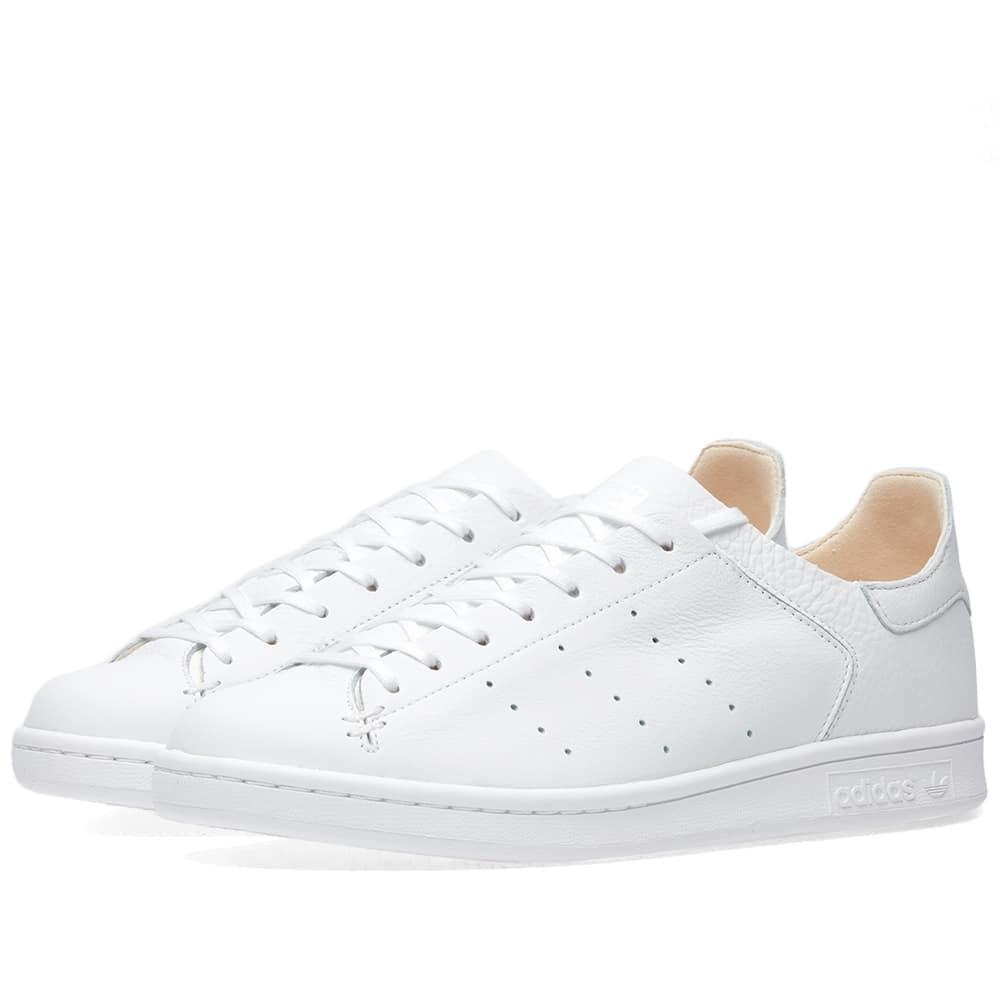 Adidas Stan Smith Leather Sock White