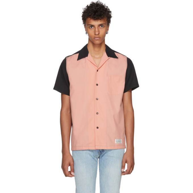 Photo: Wacko Maria Black and Pink Two-Tone 50s Shirt