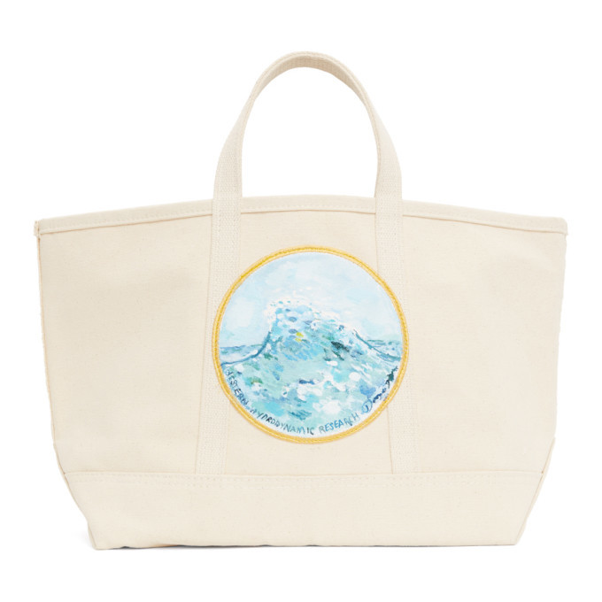 Photo: Western Hydrodynamic Research Beige Beach Birkin Tote