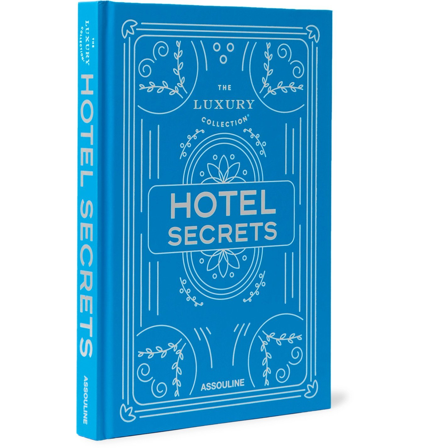 Photo: Assouline - The Luxury Collection: Hotel Secrets Hardcover Book - Blue