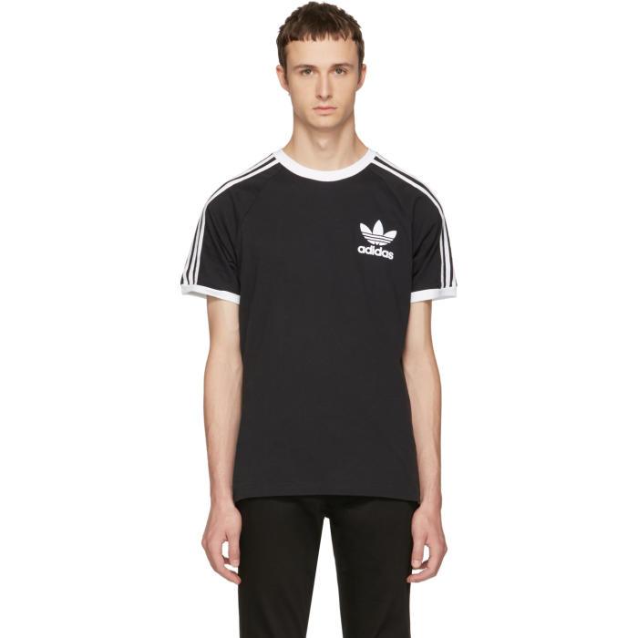 adidas Originals Black and White California T-Shirt