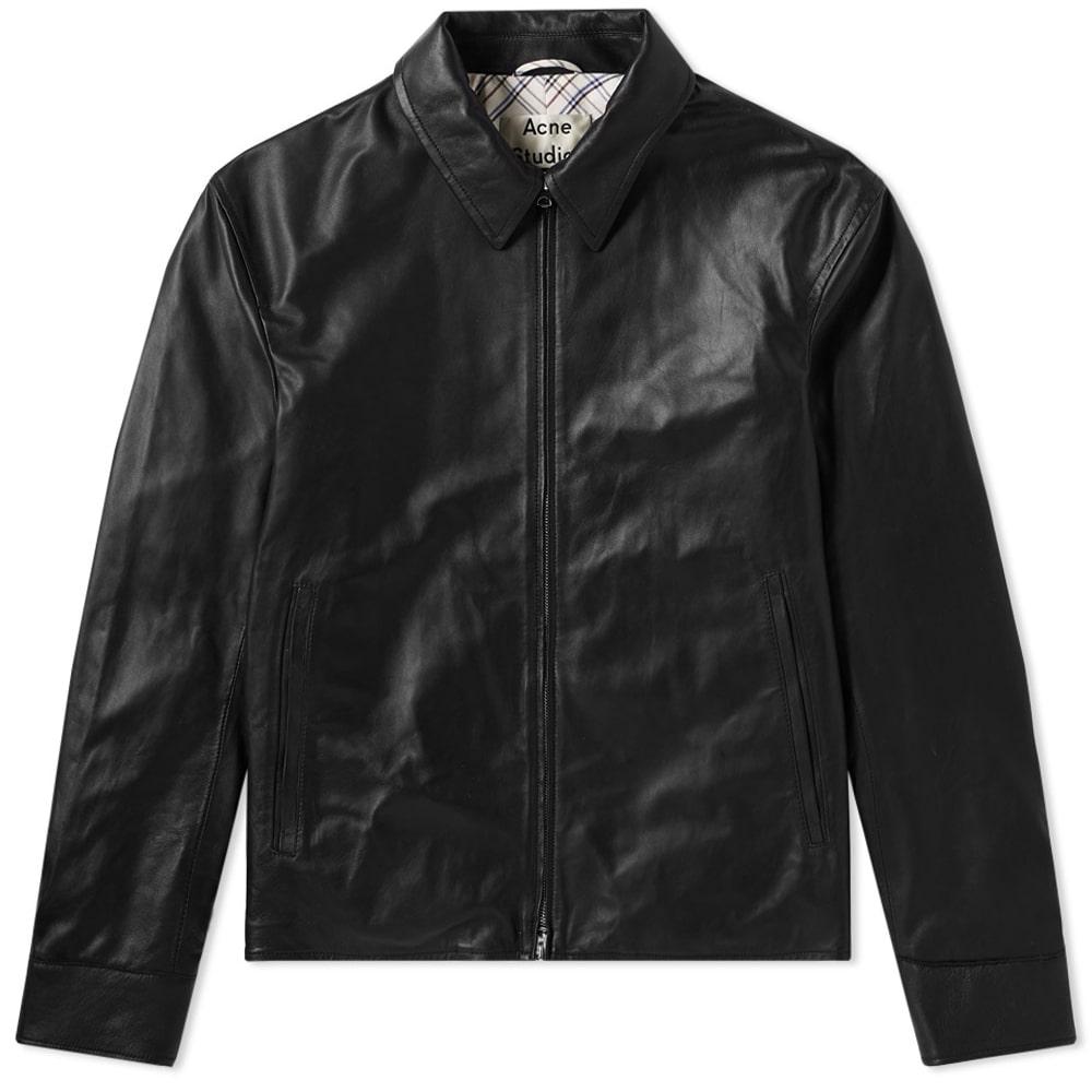 Photo: Acne Studios Lior Lambs Leather Jacket