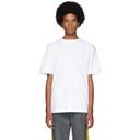 Sunspel White Mock Neck T-Shirt