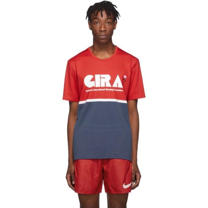 Photo: Nike Red and Blue Gyakusou NRG T-Shirt