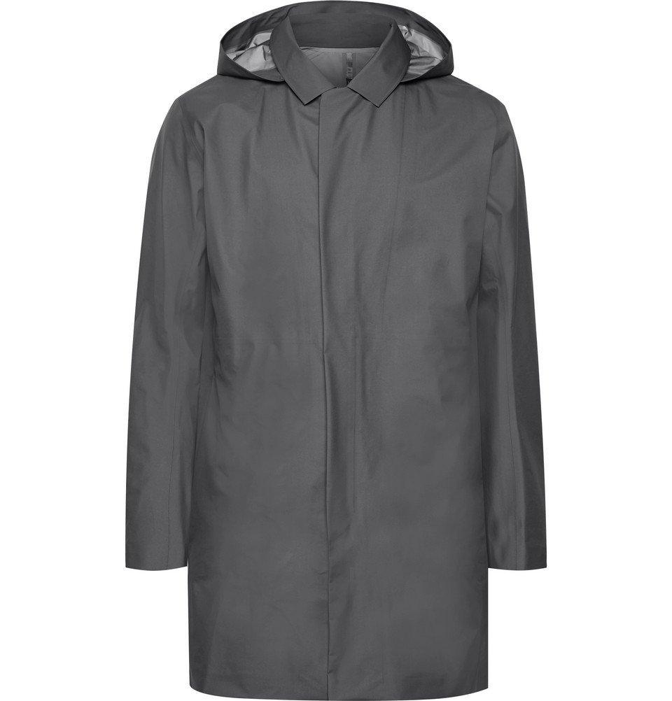 Photo: Arc'teryx Veilance - Partition GORE-TEX Hooded Raincoat - Men - Gray